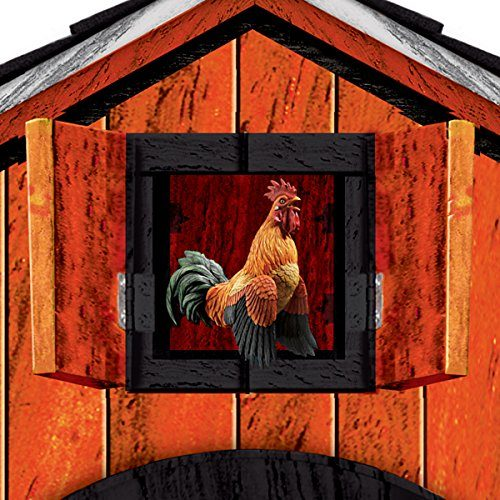 Allis Chalmers Farm Cuckoo Clock