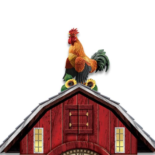 Barnyard Strut Rooster Cuckoo Clock Wall Of Clocks