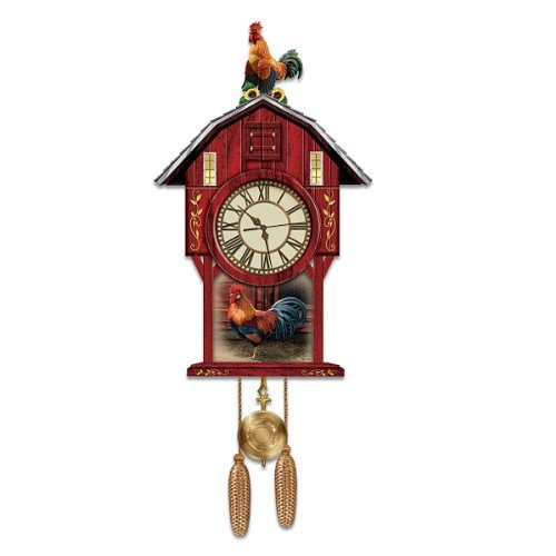 Rooster Cuckoo Clock