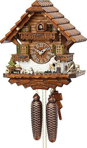 Hekas 031-88-5EX Cuckoo Clock Black Forest