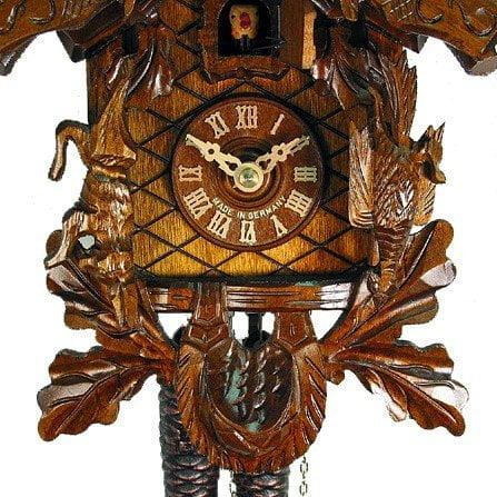 August Schwer 1.0067.01.C Antique Hunting Cuckoo Clock