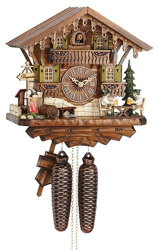 Hekas 884 EX German Chalet Cuckoo Clock
