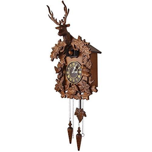 Kendal Handcrafted Wood Cuckoo Clock Mx015 2 Wall Of Clocks