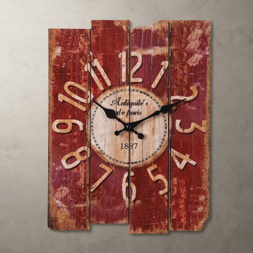 Lightinthebox 15 Quot Country Style Vintage Wall Clock Home