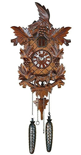 Trenkle Bird and Grapes TU 359 Q Cuckoo Clock