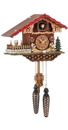 Trenkle 457 QT Swiss House Quartz Cuckoo Clock