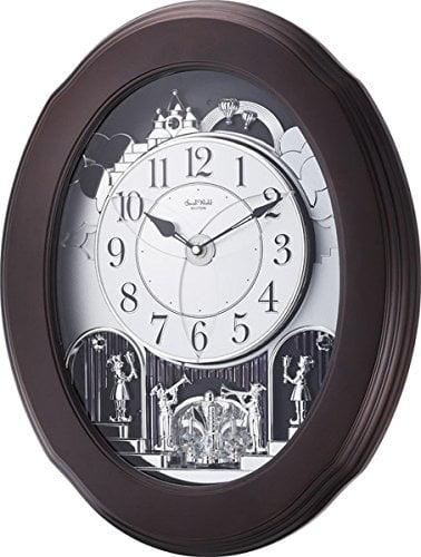 Nostalgia Espresso Rhythm Clock 4MH871WU06