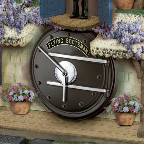 Flying Scotsman Cuckoo Clock