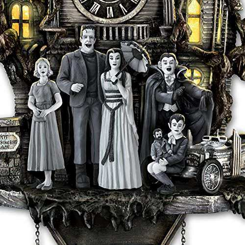 Munsters Cuckoo Clock With Lights And Music Wall Of Clocks