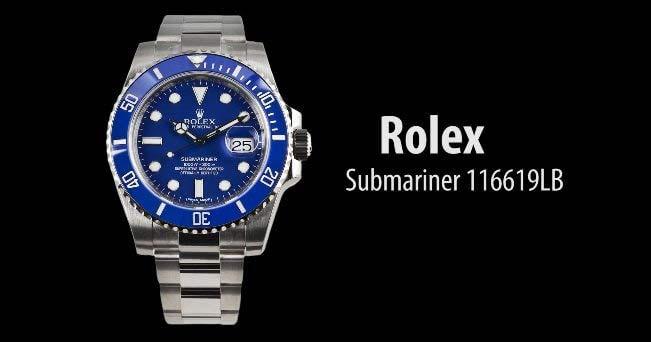 Rolex 116619LB Submariner