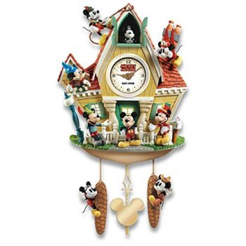 The Disney Mickey Mouse Through The Years Cuckoo Clock