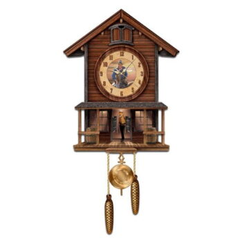 John Wayne Cuckoo Clock - Collectible American Icon