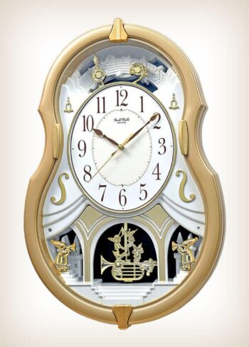Melody Dream Rhythm Clock 4MJ428WU18