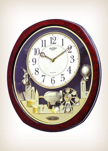 Joyful Land by Rhythm Clocks - Model 4MH850WD23 Musical Motion Clock