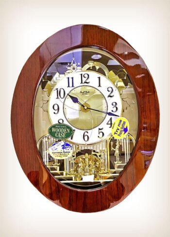 Grand Nostalgia Entertainer Rhythm Clocks - 4MH838WD06