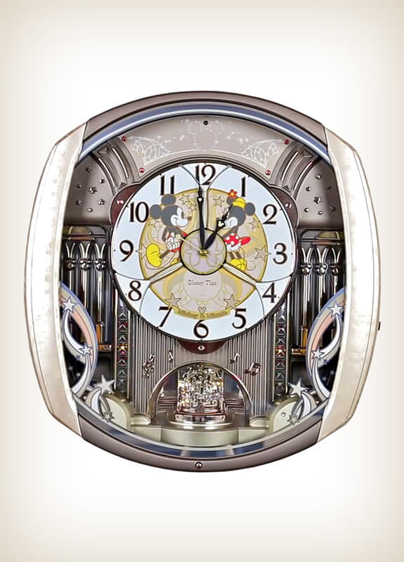 Seiko Fw563a Disney Time Melody In Motion Clock Wall Of