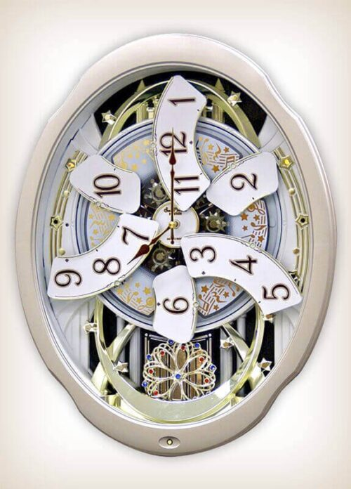 Marvelous Magic Rhythm Clock 4MH842WD18