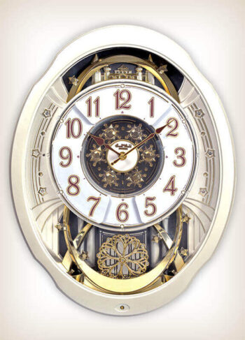 Marvelous Pearl Rhythm Clock 4MH427WU03