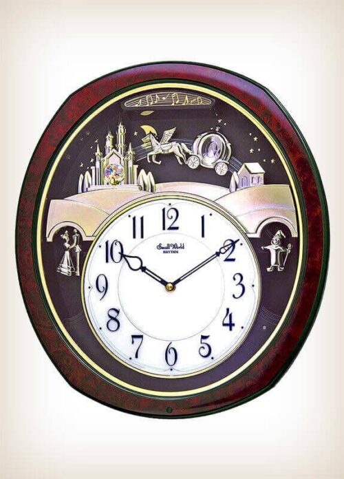 Princess Fantasy Rhythm Clock 4MH862WU23