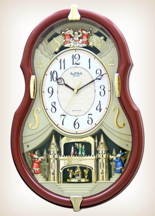 Viola Entertainer II Rhythm Clock 4MH829WD06