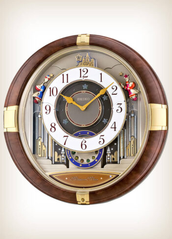 Seiko QXM333B Marionette Melodies in Motion Clock