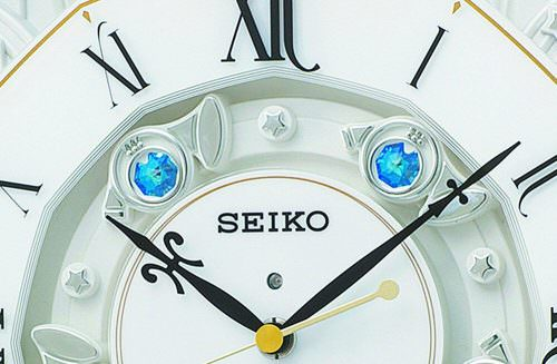 Seiko RE575B Radio Wave 40 Melodies Clock