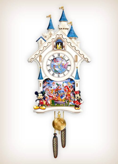 Disney Character Cuckoo Clock Happiest Of Times