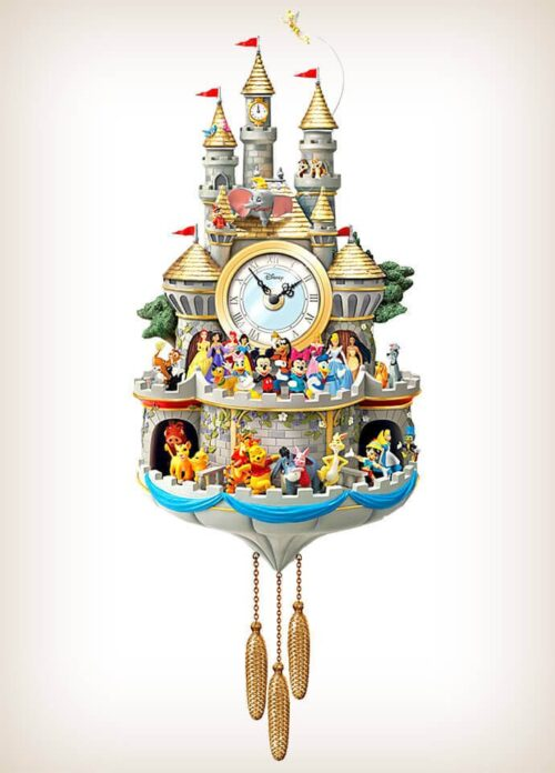 Disney Timeless Magic 43 Friends Cuckoo Clock