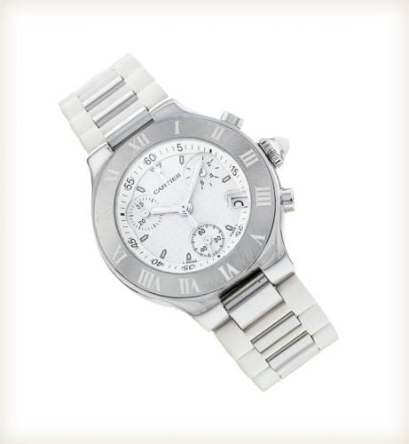 Cartier Must 21 W10197U2 Chronoscaph Watch