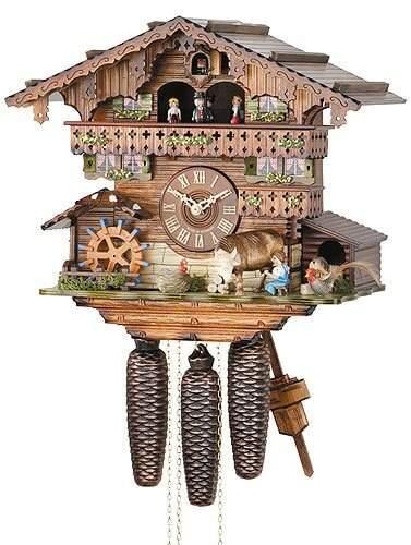 Hekas KA 3623/8 EX The Countryside Cuckoo Clock