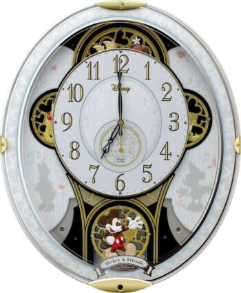 Mickey and Friends Rhythm Clock 4MN509MC03