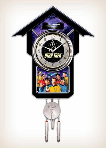 The Star Trek Cuckoo Clock