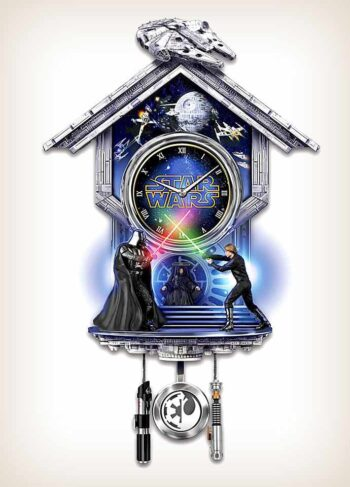 The Star Wars Clock: Return of the Jedi Wall Clock