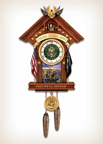United States Military Time Cuckoo Clock